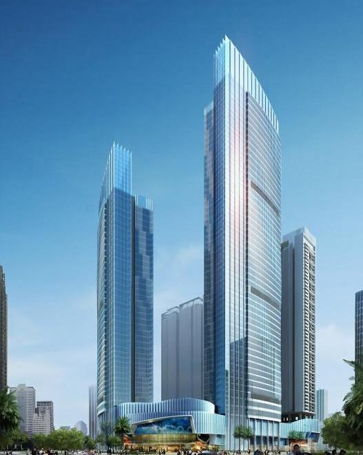 佛山市金海M-CITY(东平广场)北塔公寓